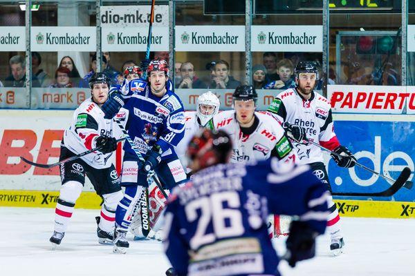 Eishockey - DEL - Iserlohn Roosters - Kölner Haie 9/9