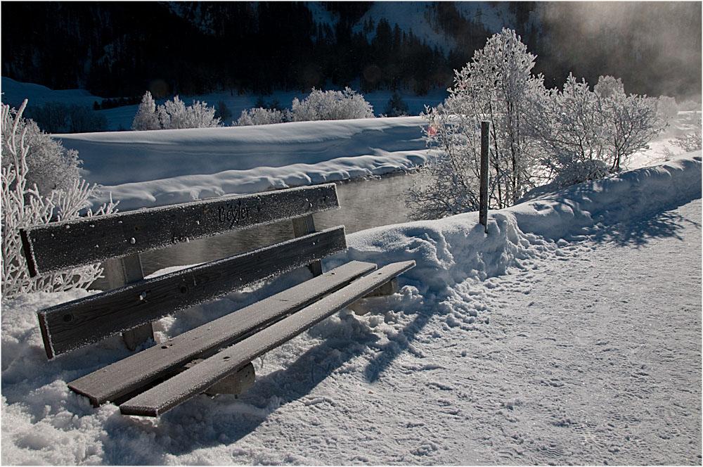 eisige Kälte im Oberengadin