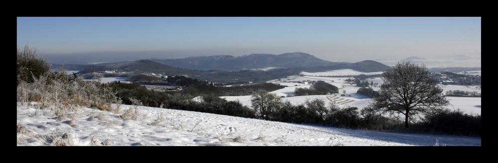 eisige Winterlandschaft