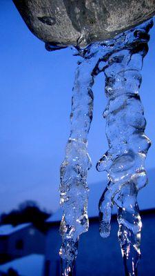 Eisige Zeiten....