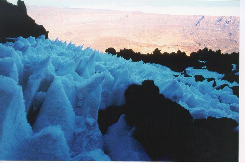 Eisige Zeiten am Teide (Teneriffa)
