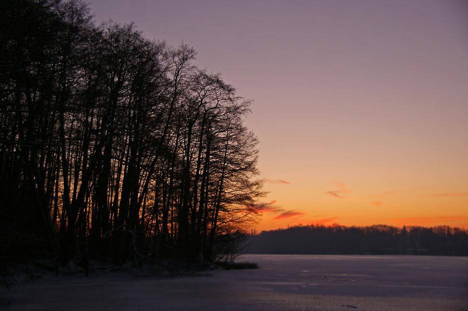 Eisiger Glienicker See, 06.01.09 – 03