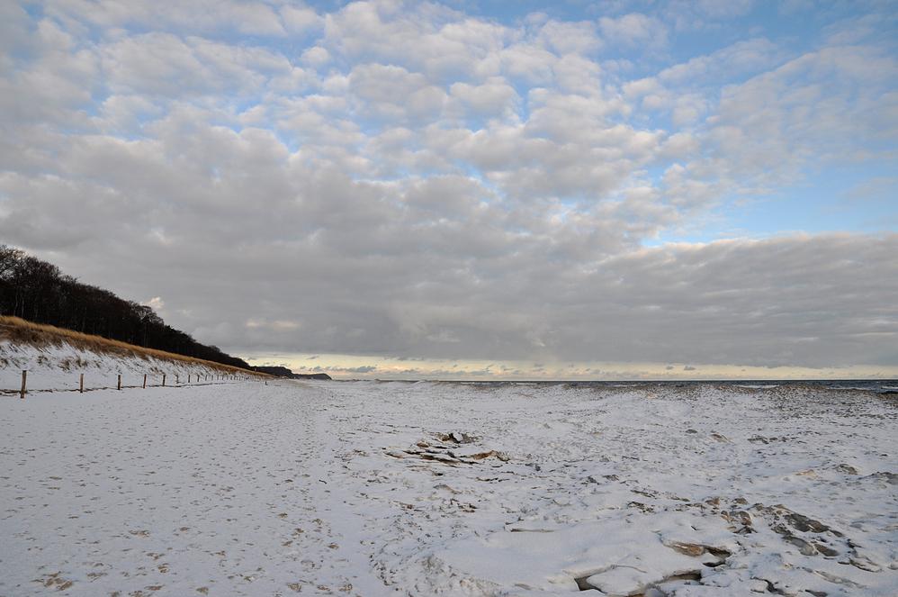 Eisiger Ostseestrand 2011