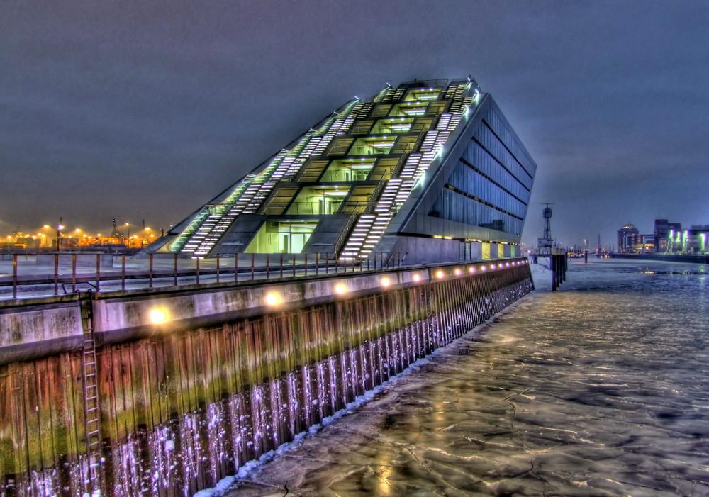 Eisiges Dockland
