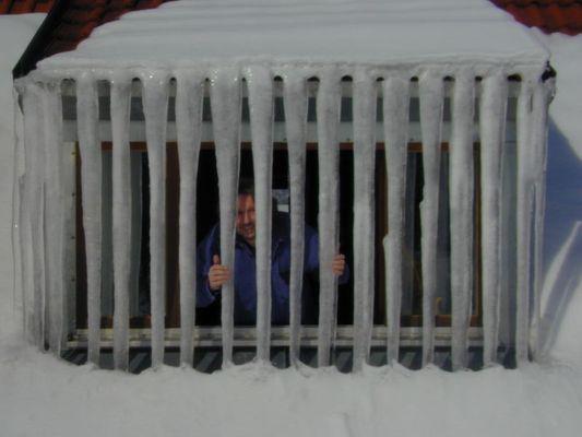 eiskalt draußen, drinnen ist´s warm