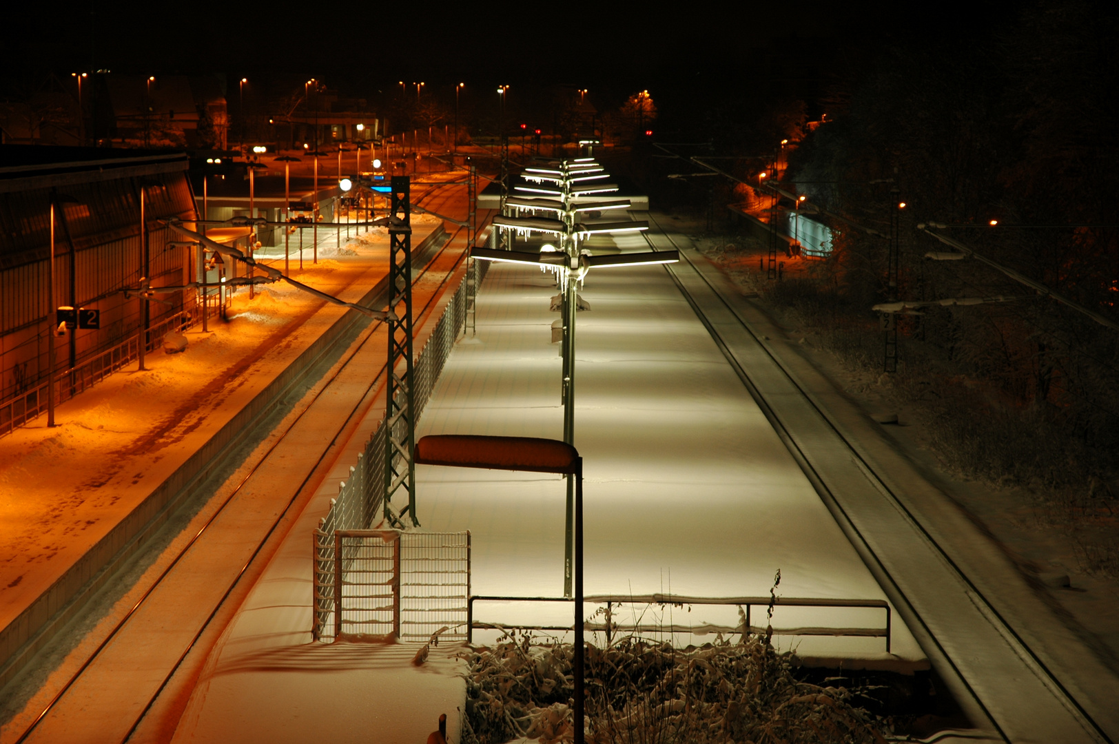 Eiskalte Dezembernacht
