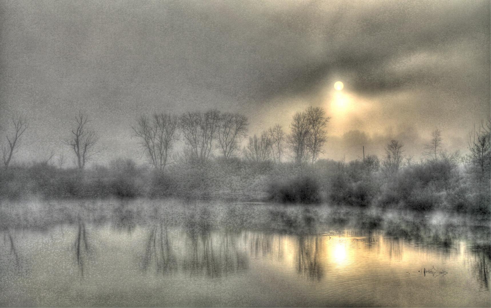 Eiskalter Nebel