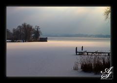 Eiskalter Samstag an der Havel