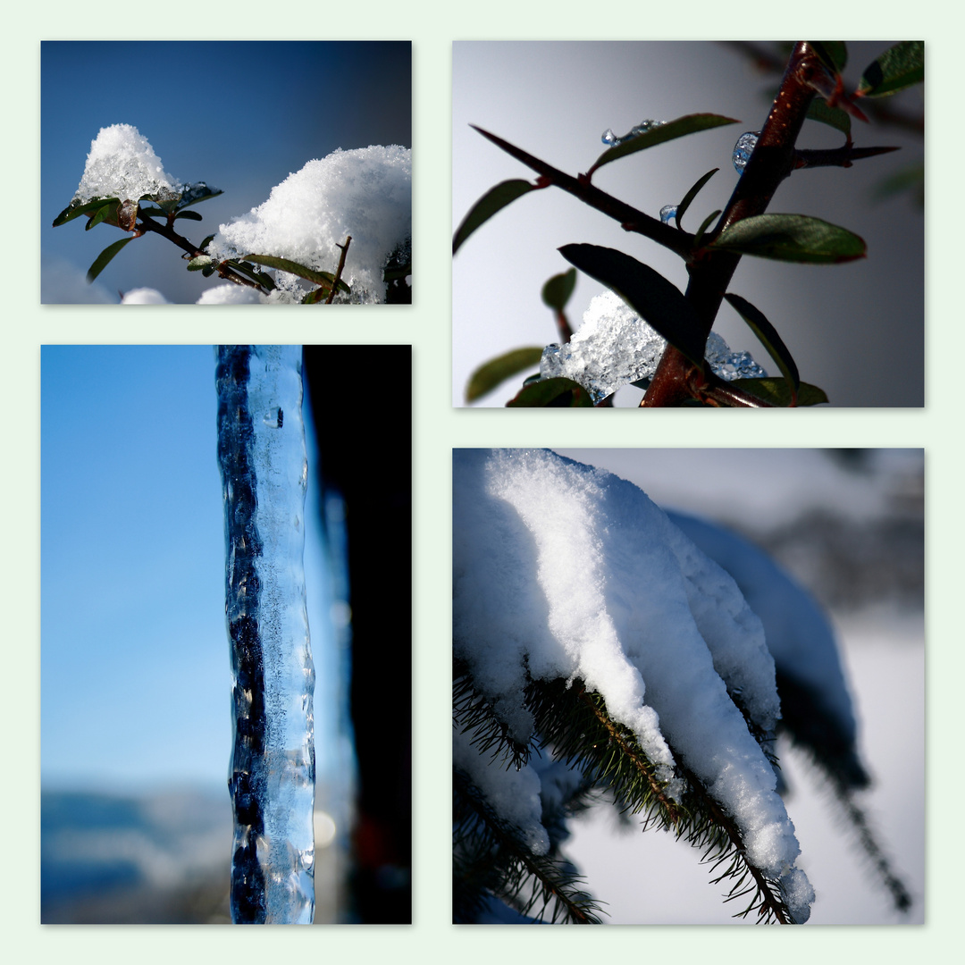 Eiskaltes am Wegesrand