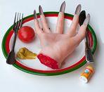 Eiskaltes Händchen mit Senf