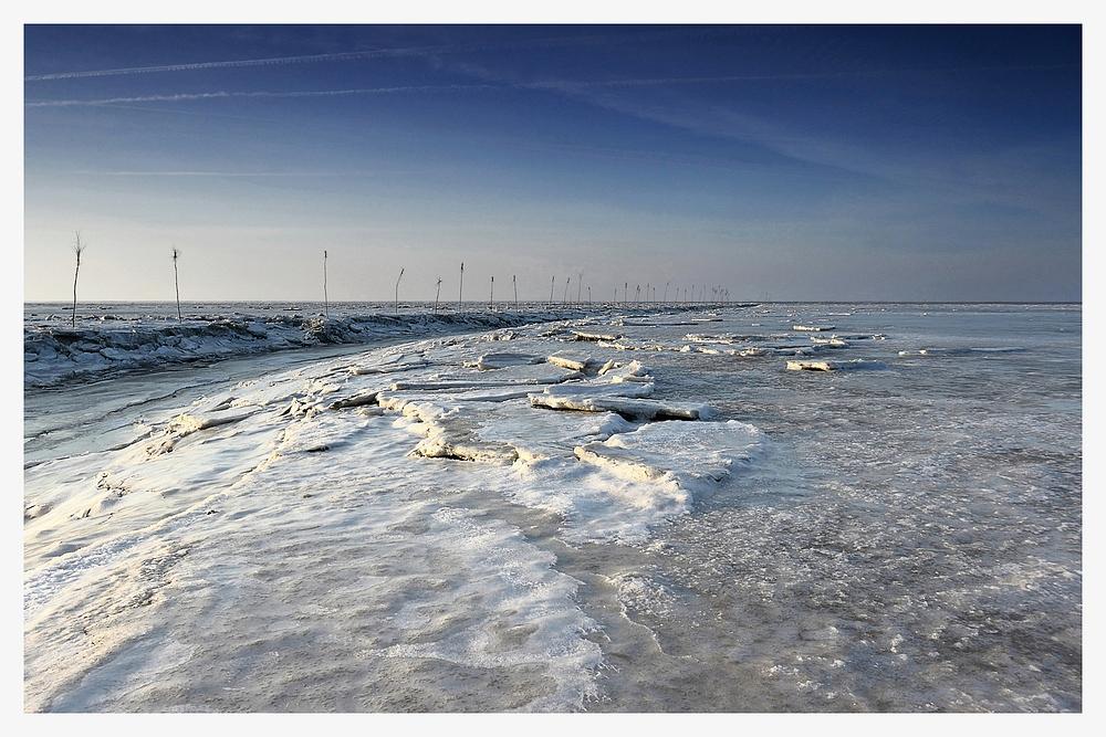 Eiskaltes Wattenmeer - Weltnaturerbe (6)