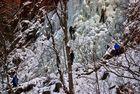 Eisklettern im Harz