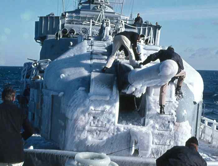 Eisklopfen ist angesagt