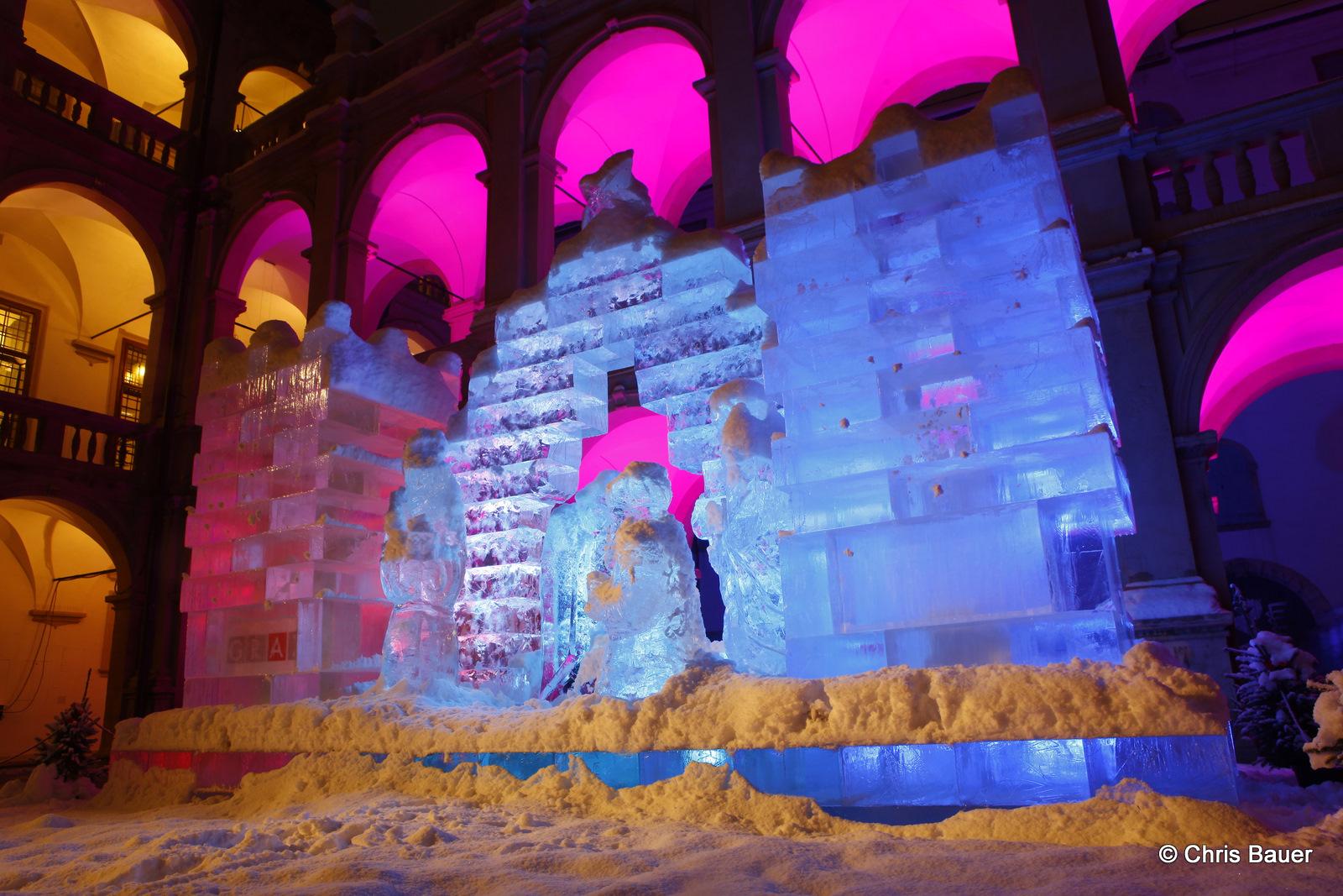Eiskrippe in Graz