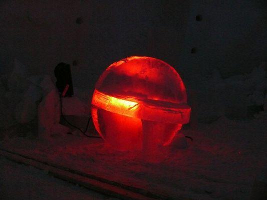 Eiskunst in Kirkense