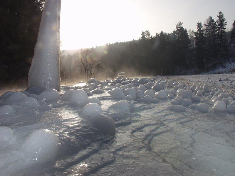 Eislandschaft bei Lobenstein
