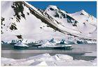 Eislandschaft in der Nähe von Kulusuk