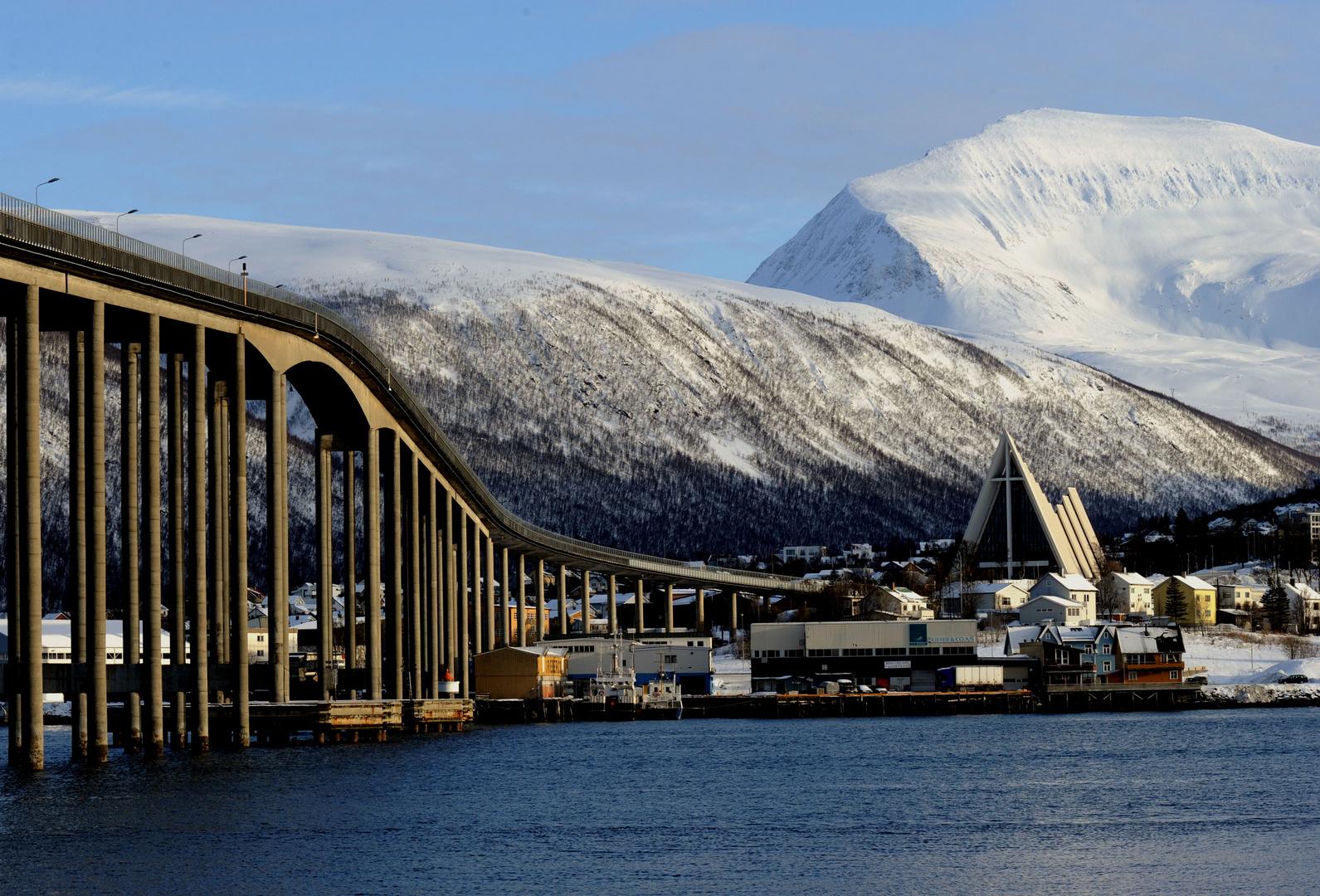 Eismeer Kathedrale bei Tromsö