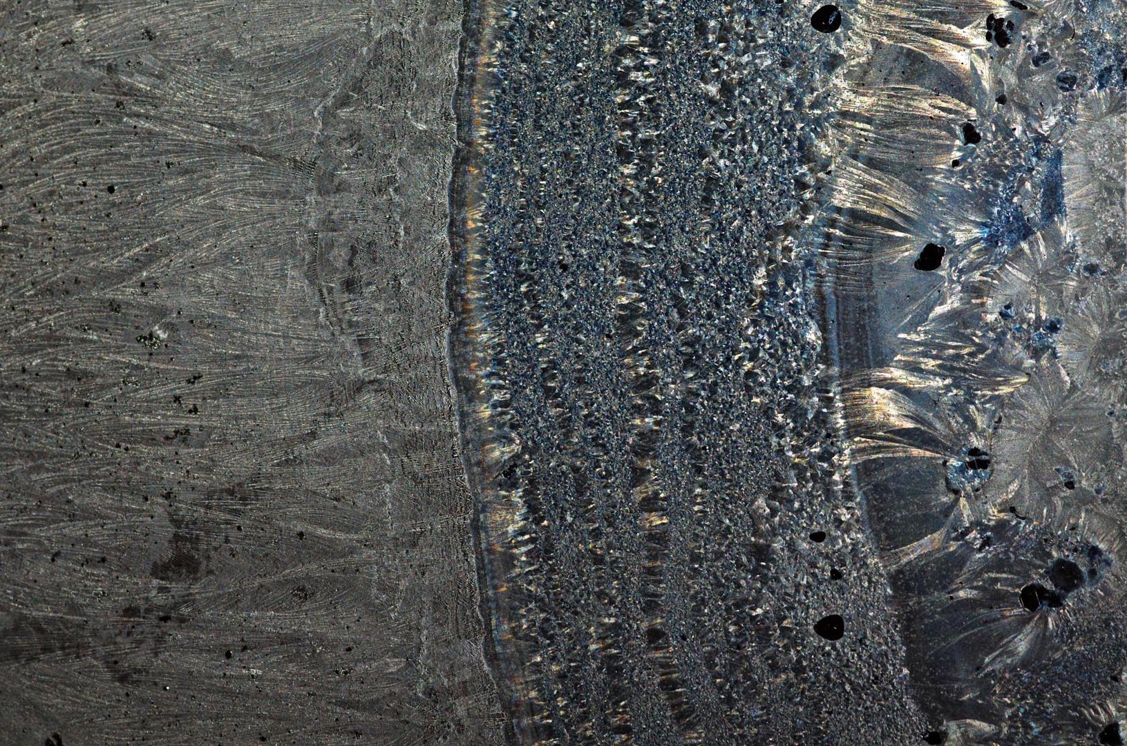 Eisplanet, Gebirgszug