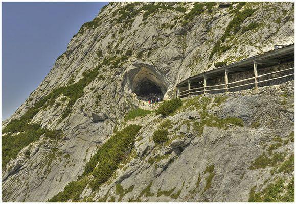 Eisriesenwelt- Höhleneingang