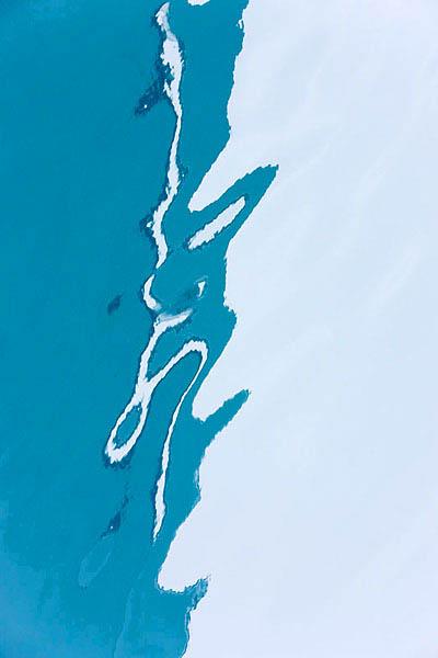 Eisspiegelung, Ice reflection, Arctic Ocean