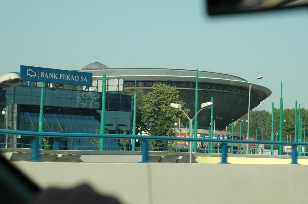 Eissporthalle in Katowitce oder auch Ufo genannt