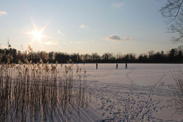 Eiszeit am See