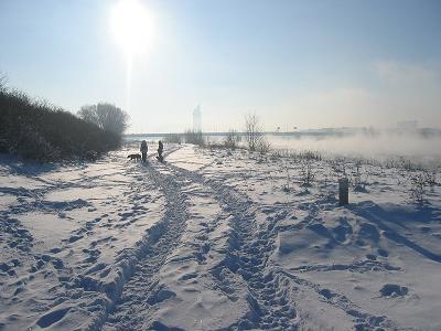 Eiszeit auf der Insel