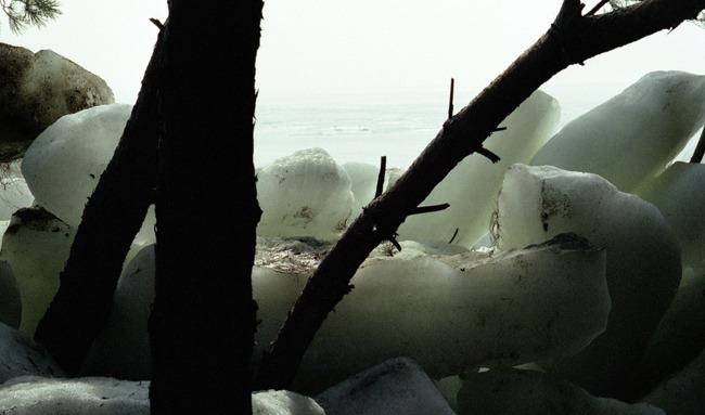 Eiszeit im April