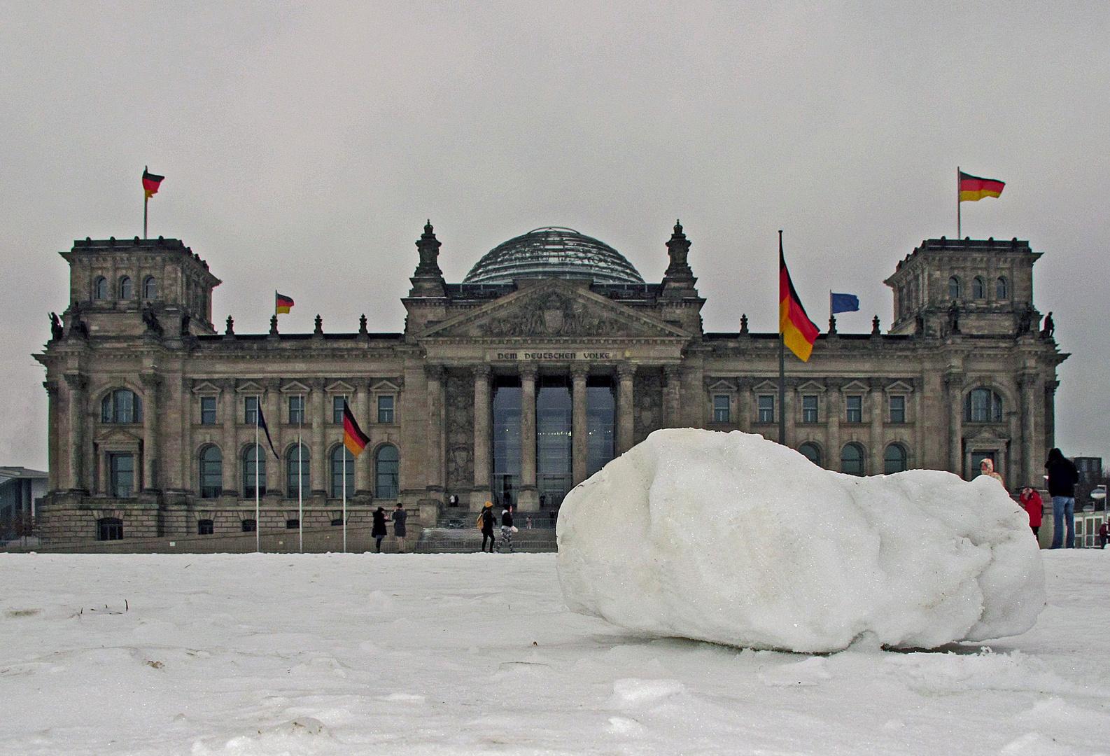 Eiszeit in Berlin......