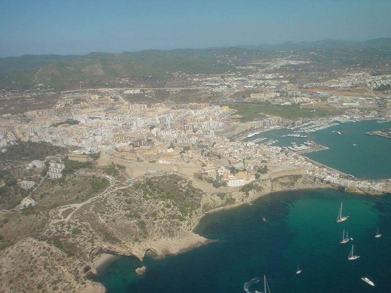 Eivissa town