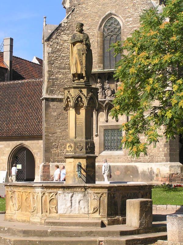 Ekkehardbrunnen in Naumburg