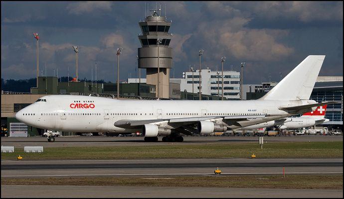 El Al Cargo 747 in Zürich