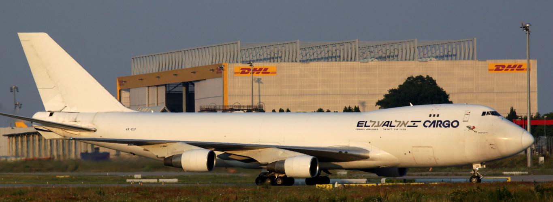 El Al Cargo Boeing 747-400(F) 4X-ELF at LEJ