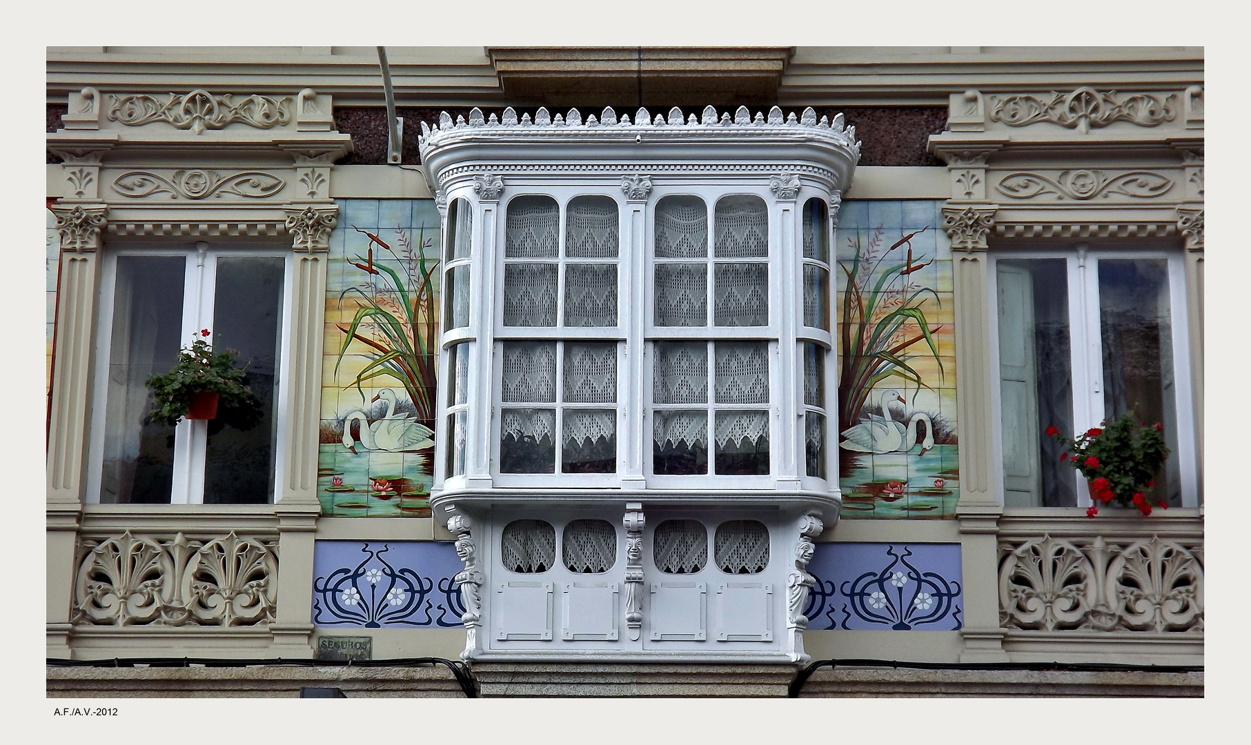 El balconcito a la calle (A Coruña)