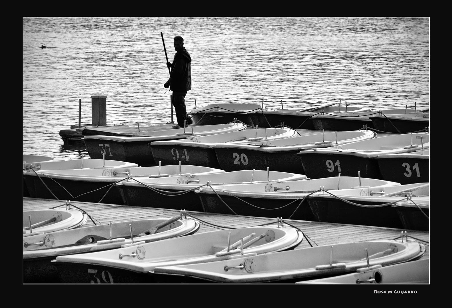 El barquero