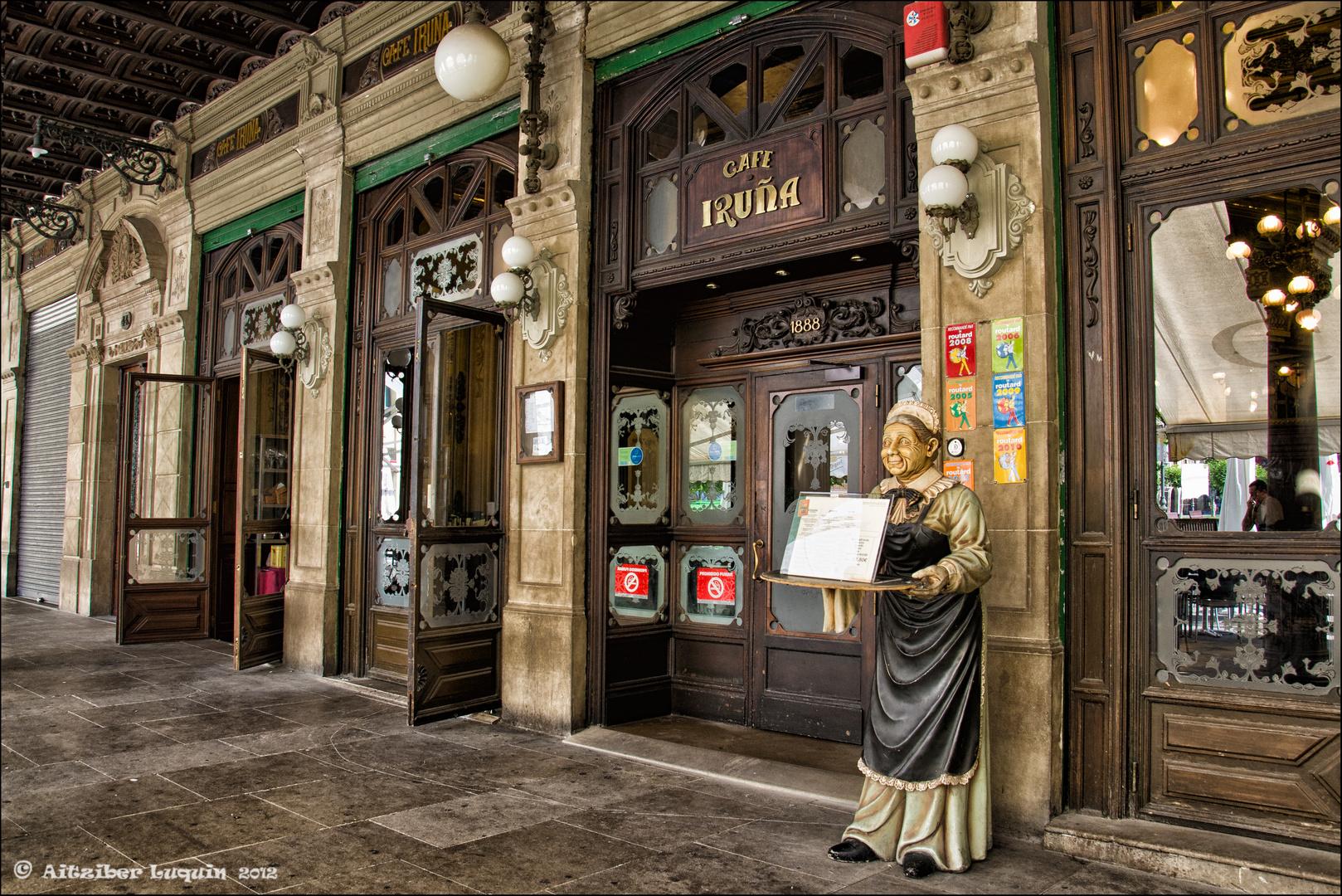El Café Iruña (Pamplona)