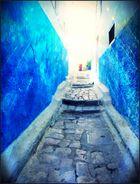 - el callejón azul -