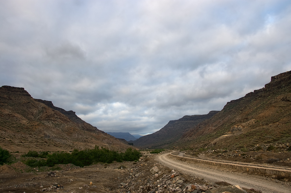 El camino que lleva a las 2 fotos anteriores.