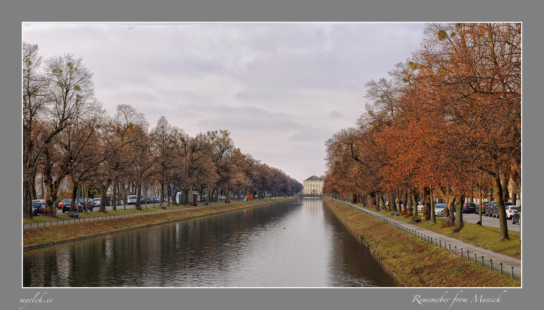 EL CANAL DE NINPHENBURG -MUNICH ALEMANIA