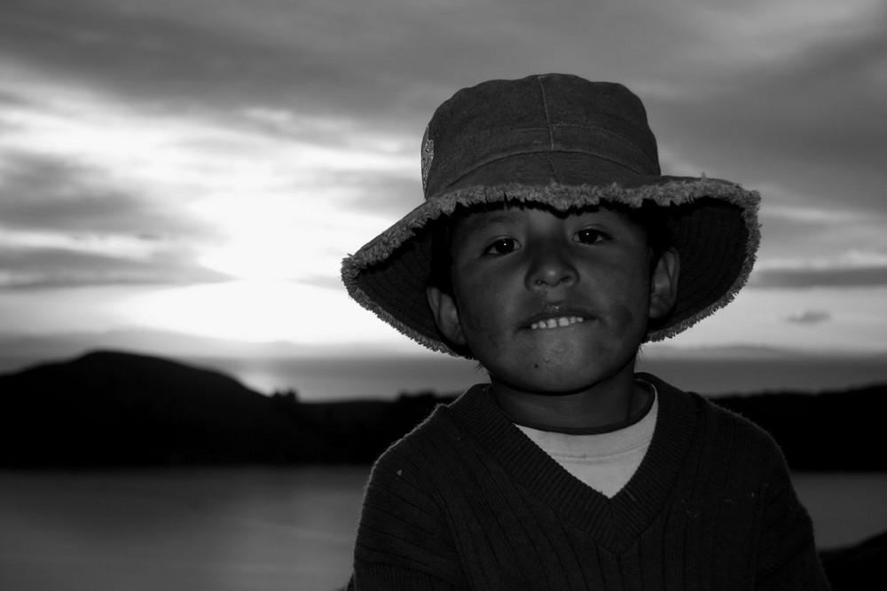 El chico de la isla del sol