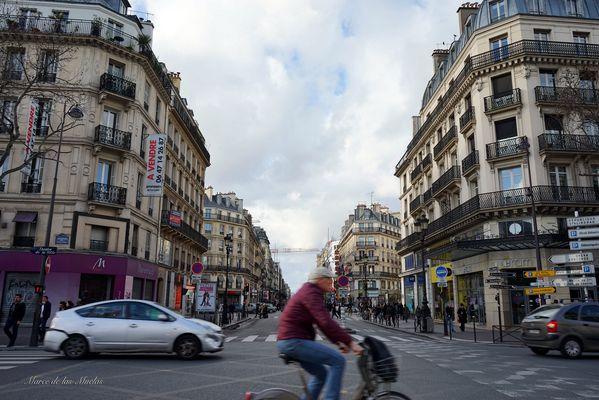 ...el ciclista de Paris...