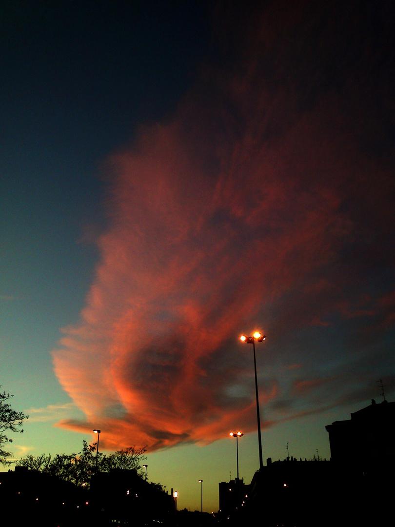 El cielo en llamas 1