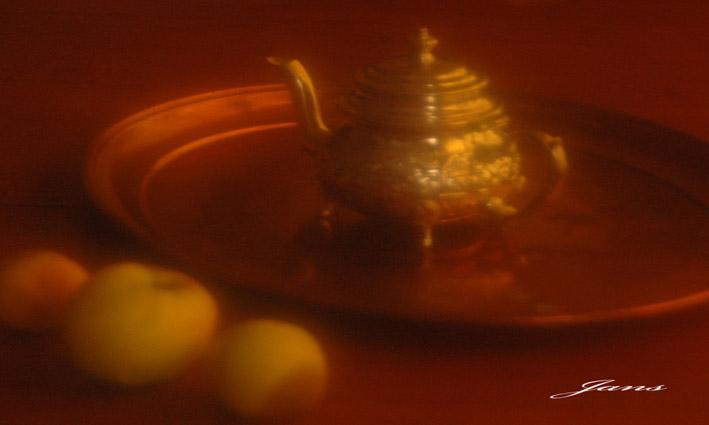 El color de un te en Nublina