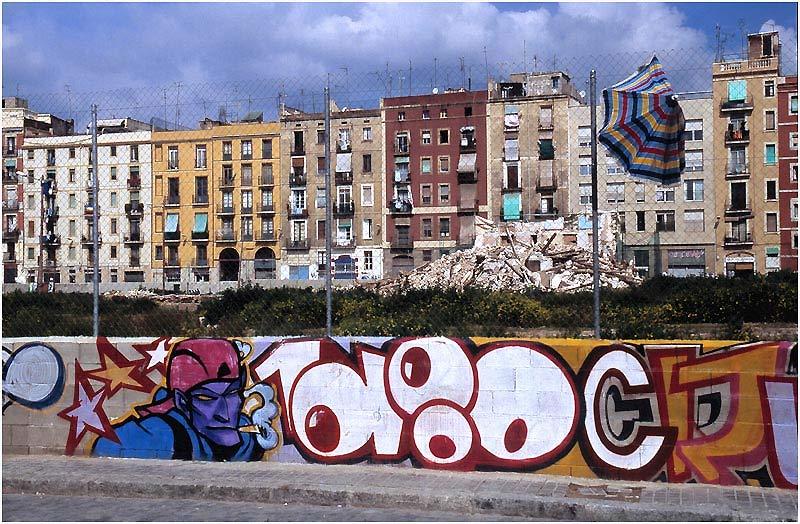 el colorido de barcelona