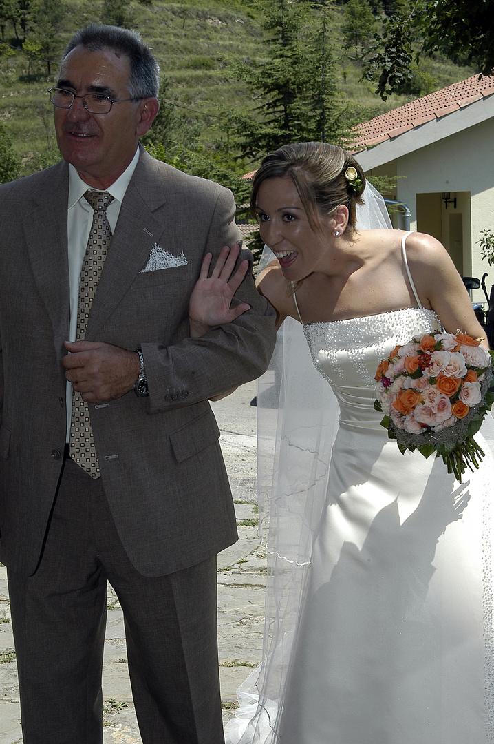 el dia de la boda ( mi hija CRISTINA )