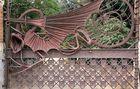 El dragón de la finca Güell en Barcelona