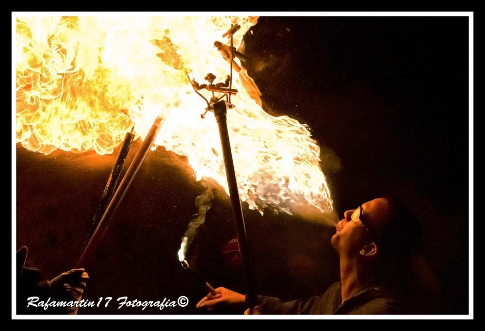 El dragon del fuego