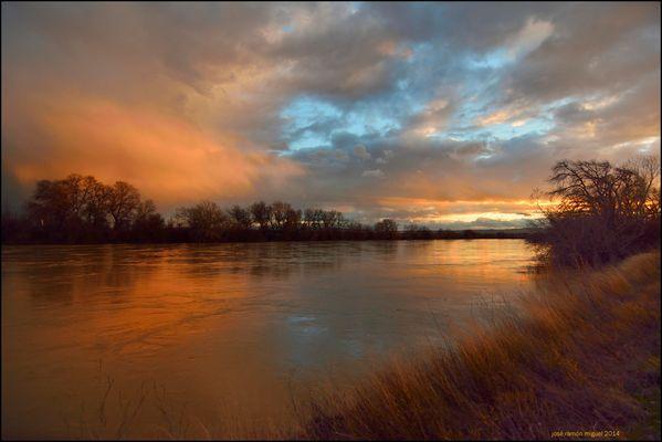 El Ebro bravo