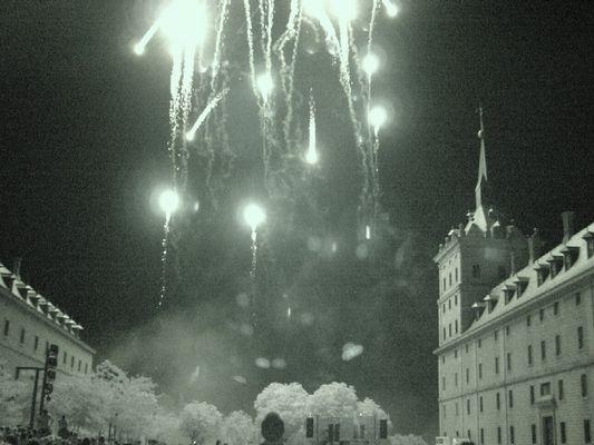 El Escorial's Fireworks